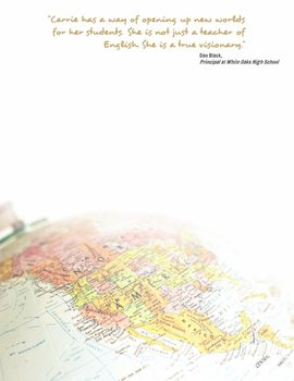 Creative Teacher Resume - Global Template