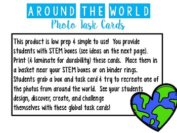 Global STEM Task Cards