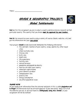 Global Settlements Assignment