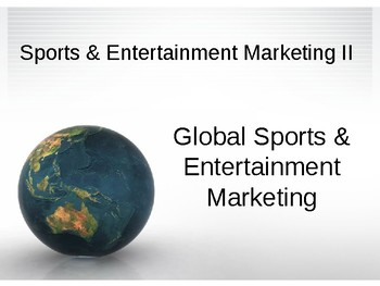 Global Sports and Entertainment Marketing