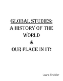Global Studies Review Book:  A History of The World & Our