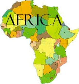 Global Studies Unit 11 Lesson 5 African Map Exercise