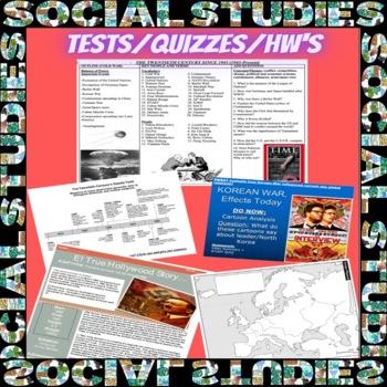 Global Studies WHOLE CURRICULUM! Part 2 - 150 + Common Core Lesson Bundles