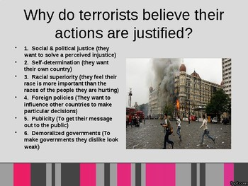 Global Terrorism Powerpoint - Global Issues
