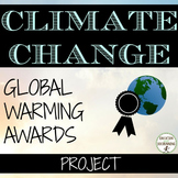 Earth Day Global Warming Awards for climate change unit UPDATED
