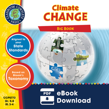 Global Warming BIG BOOK Gr. 5-8