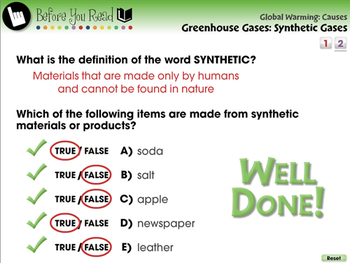 Global Warming CAUSES: Greenhouse Gases: Synthetic Gases - PC Gr. 5-8