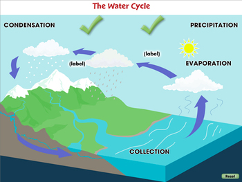 Global Warming CAUSES: Greenhouse Gases: Water Vapor - NOTEBOOK Gr. 5-8
