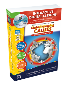 Global Warming: Causes - NOTEBOOK Gr. 5-8