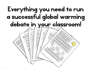 Global Warming Debate - Human vs. Natural (Climate Change Higher Level Thinking)
