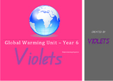 ACARA Global Warming Drama Science Unit Year Four Five and Six