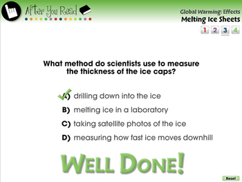 Global Warming EFFECTS: Melting Ice Sheets - PC Gr. 5-8