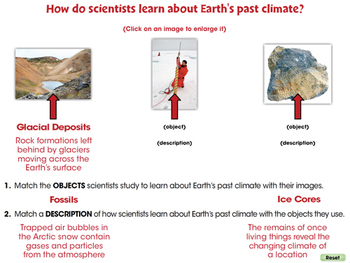 Global Warming EFFECTS: The Earth's Past Climate - MAC Gr. 5-8