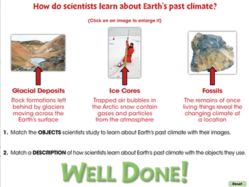 Global Warming EFFECTS: The Earth's Past Climate - NOTEBOOK Gr. 5-8