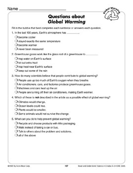 Global Warming (Earth & Space Science/Global Warming)