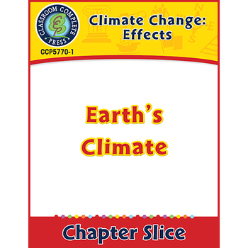 Global Warming: Effects: Earth's Climate Gr. 5-8