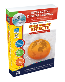 Global Warming: Effects - NOTEBOOK Gr. 5-8
