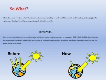 Global Warming Info and Flyer Project! EDITABLE POWERPOINT
