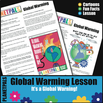 Global Warming Fun Fact Lesson Activities Earth & Every Day Science Environment