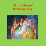 Global Warming PowerPoint and Poster Project