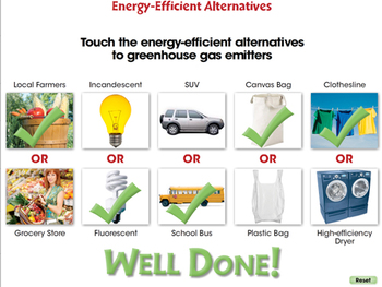 Global Warming REDUCTION: Energy Efficient Alternatives - PC Gr. 5-8