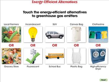 Global Warming REDUCTION: Energy Efficient Alternatives - PC Gr. 5-8