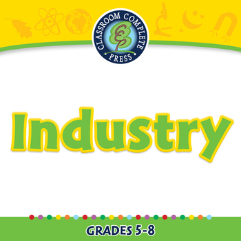 Global Warming REDUCTION: Industry - NOTEBOOK Gr. 5-8