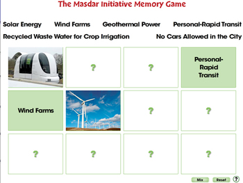 Global Warming REDUCTION: Memory Match Game - PC Gr. 5-8