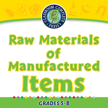 Global Warming REDUCTION: Raw Materials of Manufactured It