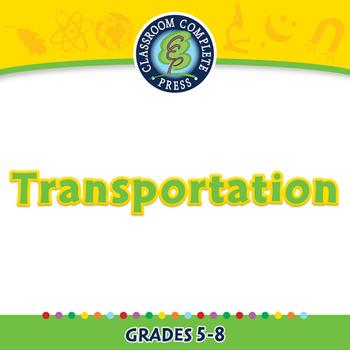 Global Warming REDUCTION: Transportation - MAC Gr. 5-8