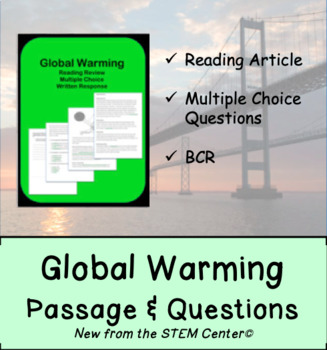 Global Warming Reading Passages and Questions