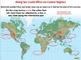 Global Warming: Rising Sea Levels Effect on Coastal Regions - NOTEBOOK Gr. 5-8