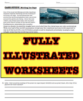 Global Warming Workbook (Greenhouse Effect, Paris Accord, Letter to TRUMP)