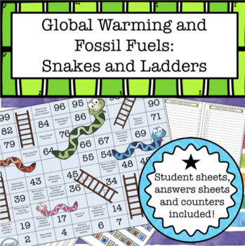 Fossil Fuels Worksheets Teaching Resources Teachers Pay Teachers