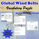 Global Winds Vocabulary Puzzle