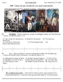 Global - Worksheet - Unit 02 - French/Latin American Rev's - 10th Grade - 5/5