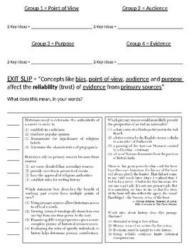 Global - Worksheet - Unit: New Regents Framework Concept - 10th Grade - 2/5