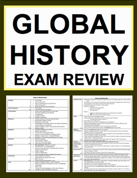 Global History & Geography Final Exam Review and Quizzes C