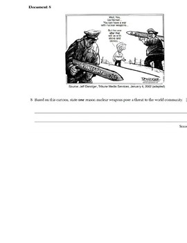 Global/World History - Primary & Secondary Sources - 21st Century Issues