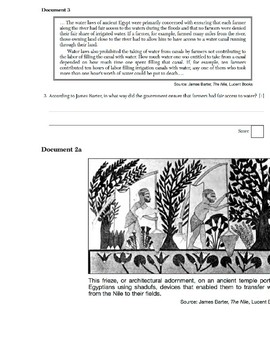 Global History - Primary & Secondary Sources - River Valley Civilizations