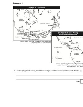 Global History - Primary & Secondary Sources - Spanish Empire/Slave Trade