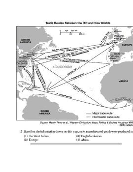 Global/World History - Map Skills Quiz 4/8 - Units 16-20