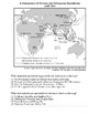 Global/World History - Map Skills Quiz 4/8 - Units 16-20