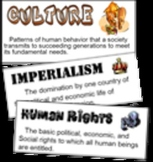 Global & World History Theme Posters