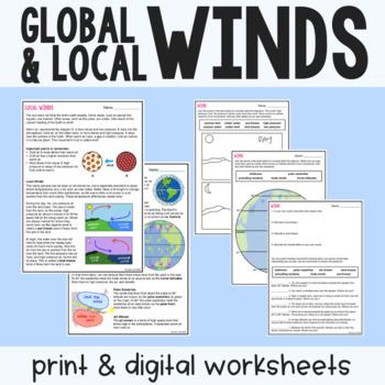35 Label Global Winds Worksheet Labels Database 2020