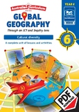 Global geography — Cultural Diversity — Year 6