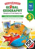 Global geography — Fires and Floods in Australia — Year 5