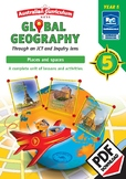 Global geography — Places and Spaces — Year 5