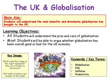 Globalisation - How Globalisation Impacts the UK & The World