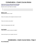 Globalization - Crash Course - Notes